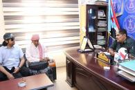 رئيس انتقالي حضرموت يطّلع على خطط ونشاطات جمعية رعاية المكفوفين بوادي حضرموت