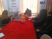 إدارتا الشؤون الاجتماعية والمرأة بتنفيذية انتقالي أبين تلتقيان اتحاد نساء المحافظة