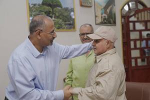 الرئيس القائد عيدروس الزُبيدي يستقبل جموع المهنئين بمناسبة عيد الأضحى المُبارك