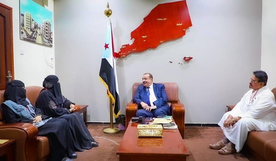 رئيس الجمعية الوطنية يلتقي رئيسة مؤسسة أمل لرعاية الأيتام والفقراء
