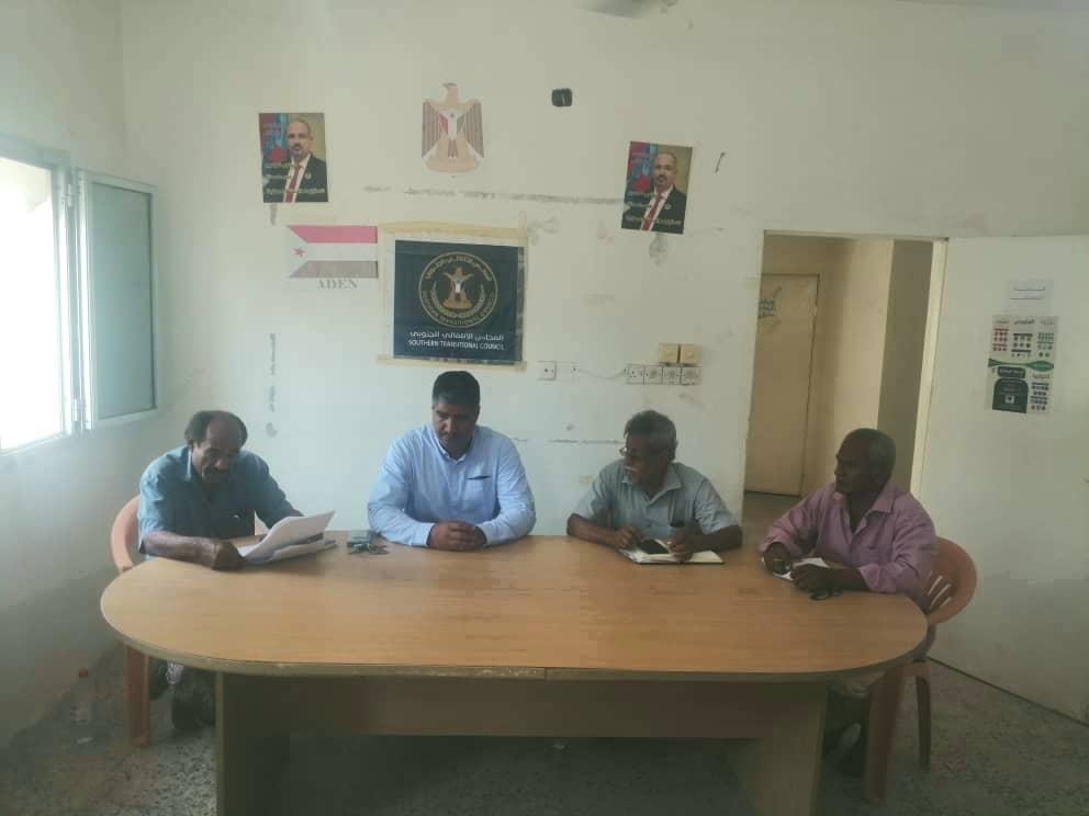 هيثم يترأس الاجتماع الدوري لتنفيذية انتقالي دارسعد