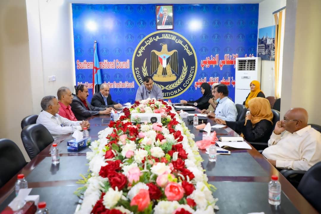 الدكتور لقمان يترأس اجتماعا مشتركاً للجنة المغتربين في الجمعية مع الأمين العام للجاليات الجنوبية بالولايات المتحدة