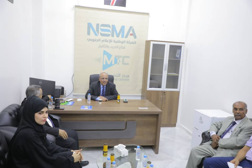 الهيئة الوطنية للإعلام الجنوبي تثمن دعم الرئيس الزُبيدي لجهود تطوير العمل الإعلامي الجنوبي