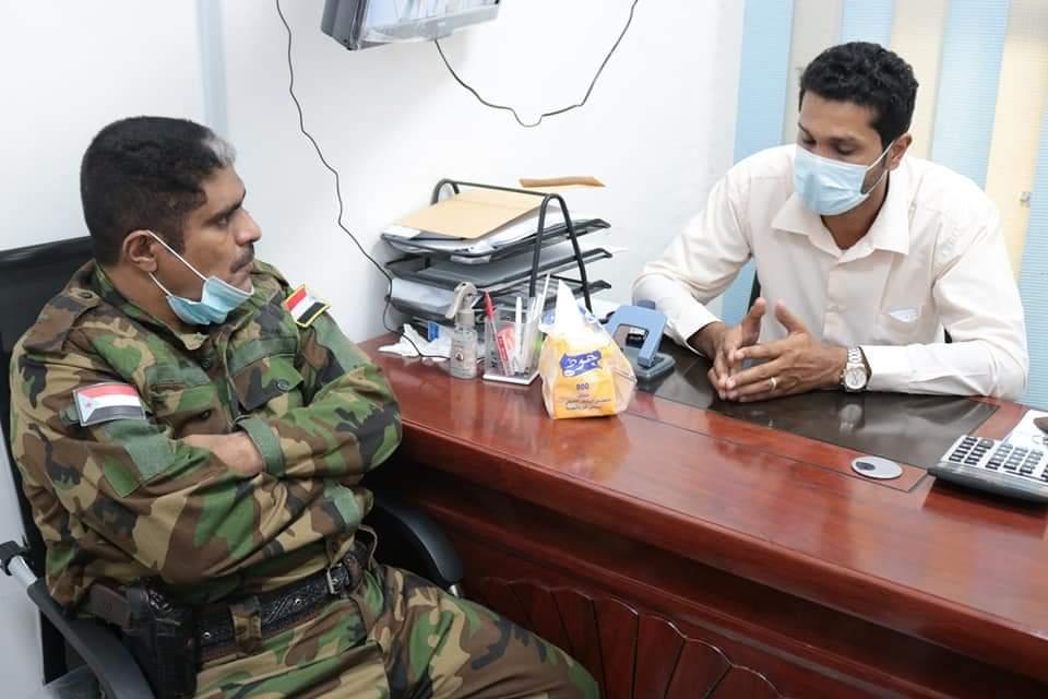 انتقالي حضرموت يدعم مستشفى ابن سينا والمركز الوطني لمختبرات الصحة بمستلزمات الحماية من كورونا