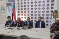الهيئة الوطنية للإعلام الجنوبي تنظم مؤتمراً صحفياً بالعاصمة عدن