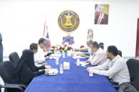 اللجنة الفنية للدراسات والبحوث ودعم صناعة القرار تعقد اجتماعها الدوري برئاسة الجعدي