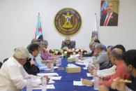 الأمانة العامة تستعرض المشهد السياسي والمستجدات على الساحة الجنوبية