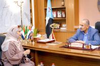 الرئيس الزُبيدي يلتقي مدير عام مكتب الثقافة بالعاصمة عدن