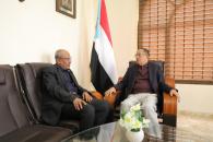 الدكتور الخبجي يتفقد مقر الهيئة الوطنية للإعلام الجنوبي