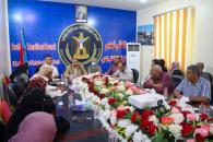 الهيئة الإدارية للجمعية الوطنية للمجلس الانتقالي تعقد اجتماعاً برئاسة اللواء بن بريك