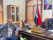 الكثيري يلتقي عضو الجمعية الوطنية الشيخ عبدالخالق بن حطبين