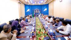 الرئيس الزُبيدي يترأس اجتماعا لتنفيذية انتقالي العاصمة عدن ويشدد على ضرورة الاقتراب من المواطنين ومعاناتهم