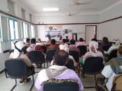 القيادة المحلية لانتقالي المضاربة ورأس العارة تعقد اجتماعها الدوري العام الموسع لعام 2021