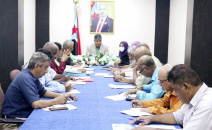 تنفيذية انتقالي العاصمة عدن تناقش خطط عملها للفصل الرابع من العام 2021