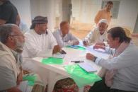 الهيئة التنفيذية المساعدة لشؤون مديريات وادي وصحراء حضرموت تقيم ورشة تدريبية بسيئون