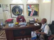رئيس تنفيذية انتقالي لحج يناقش مع القائد التتوي أوضاع المقاومة الجنوبية في الصبيحة